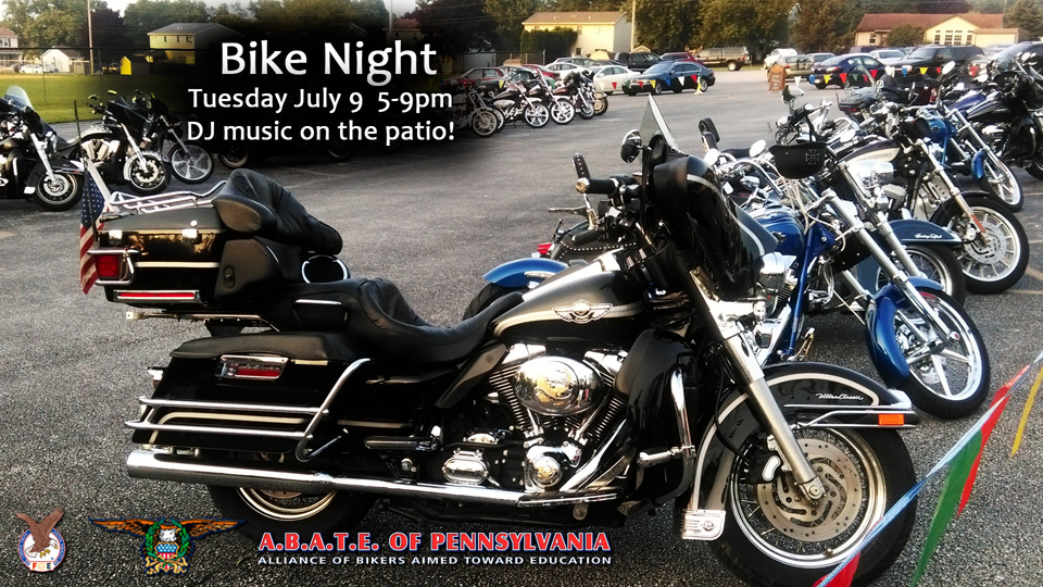 Eagle Rider Bike Night!