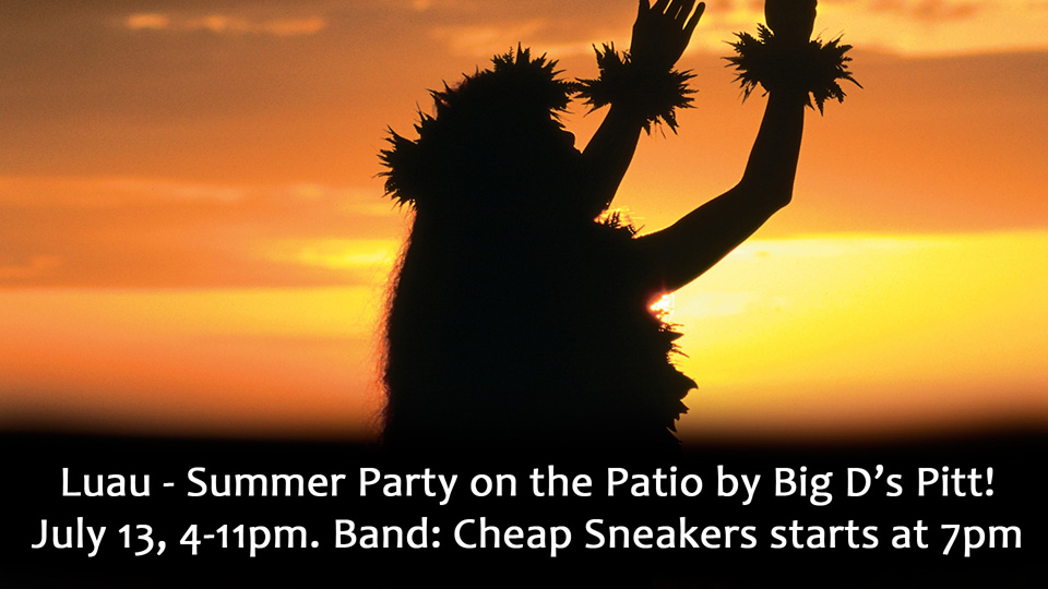 Summer Luau with Cheap Sneakers!